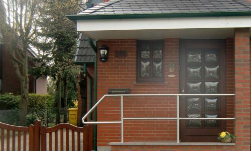 Hausbau -Bauarbeiten rund ums Haus - Eingangsbereich