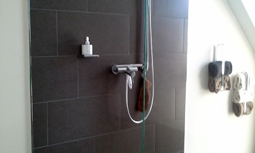 Badezimmer moderne Dusche
